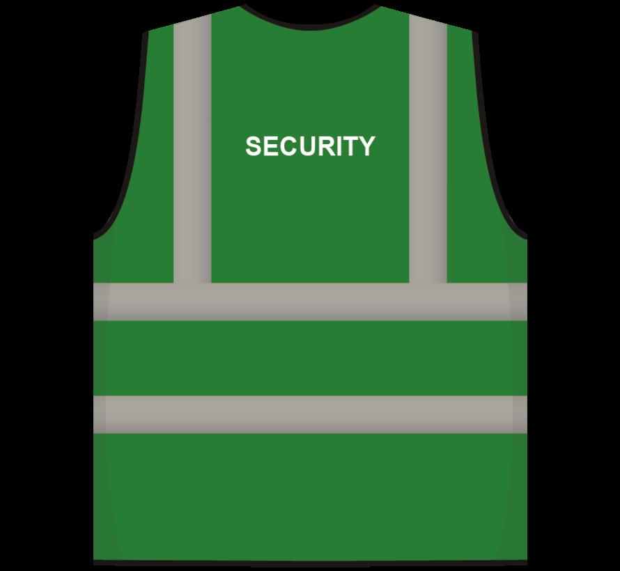 RWS veiligheidsvest security groen