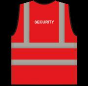ARBO centrum RWS veiligheidsvest security rood