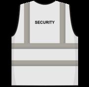 ARBO centrum RWS veiligheidsvest security wit