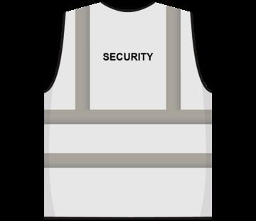 RWS veiligheidsvest security wit