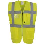 ARBO centrum Veiligheidshesje met rits geel