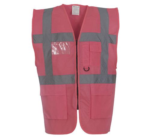 ARBO centrum Veiligheidshesje met rits roze