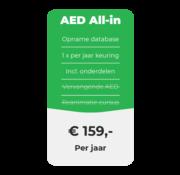 ARBOwinkel.nl AED All-in onderhoud