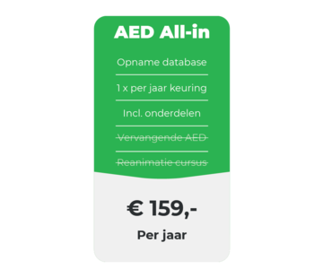 AED All-in onderhoud