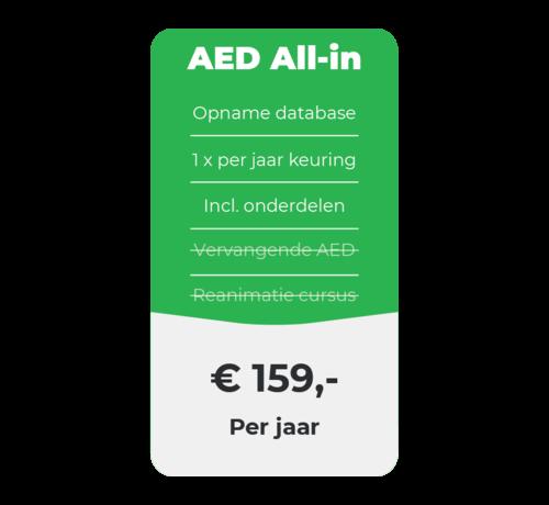 ARBO centrum AED All-in onderhoud