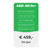 ARBO centrum AED All-in+ onderhoud