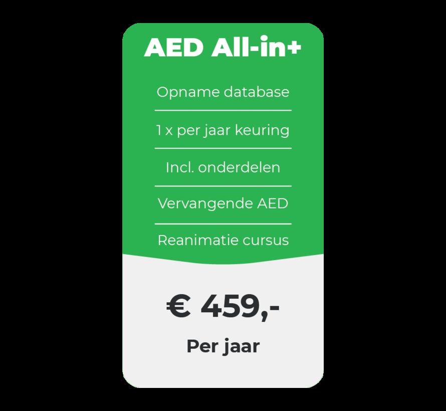 AED All-in+ onderhoud