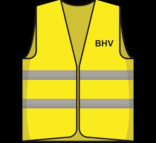 ARBO centrum Hesje geel BHV opdruk voor/achter