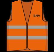 Hesje oranje BHV opdruk voor/achter