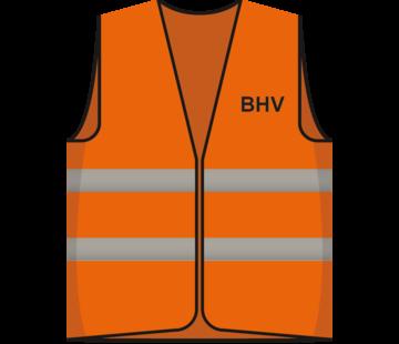 ARBO centrum Hesje oranje BHV opdruk voor/achter