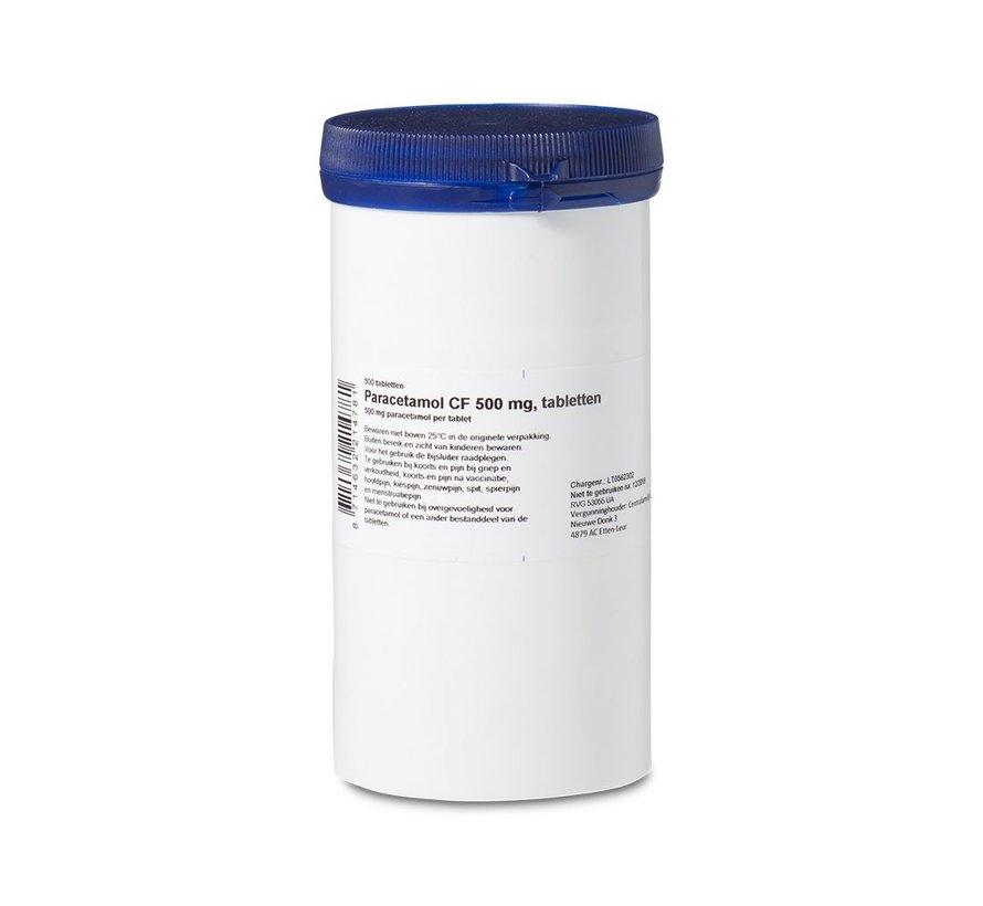 Paracetamol pot 500 stuks