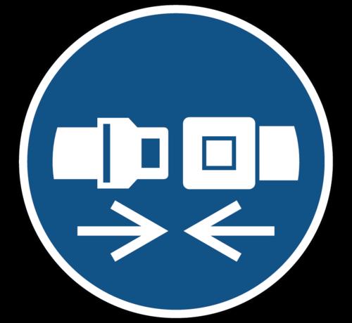ARBO centrum Vlamboog waarschuwingspictogram