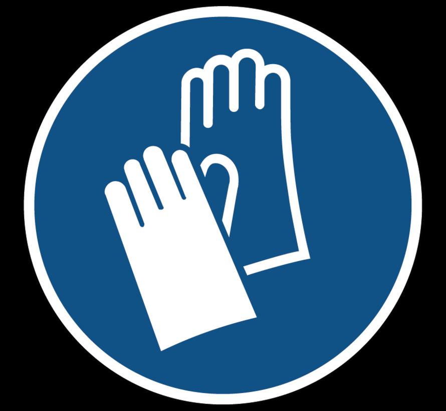 Veiligheidshanschoenen verplicht gebodspictogram