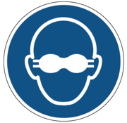 ARBO centrum Dragen van opaak bril verplicht