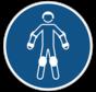 Draag beschermende rollersportuitrusting gebodspictogram