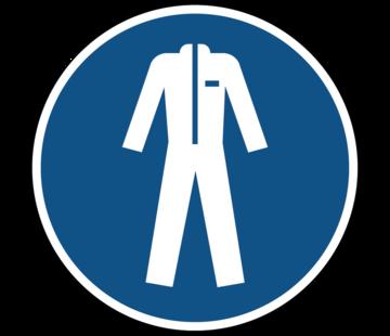 Beschermende kleding verplicht