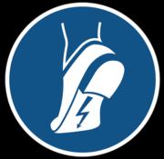 Antistatische schoenen verplicht