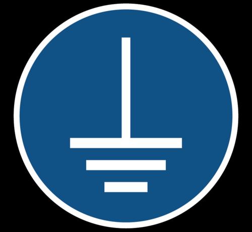 ARBO centrum Aarding verplicht gebodspictogram