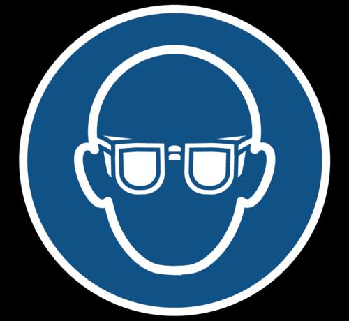 ARBO centrum Oogbescherming verplicht gebodspictogram