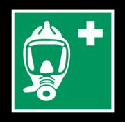 Ademhalingsapparaat voor noodevacuatie