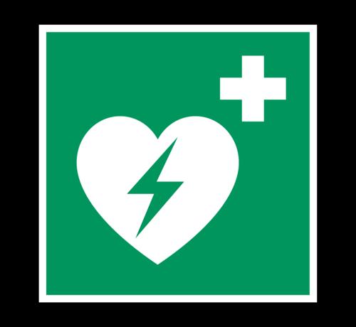 ARBO centrum AED pictogram