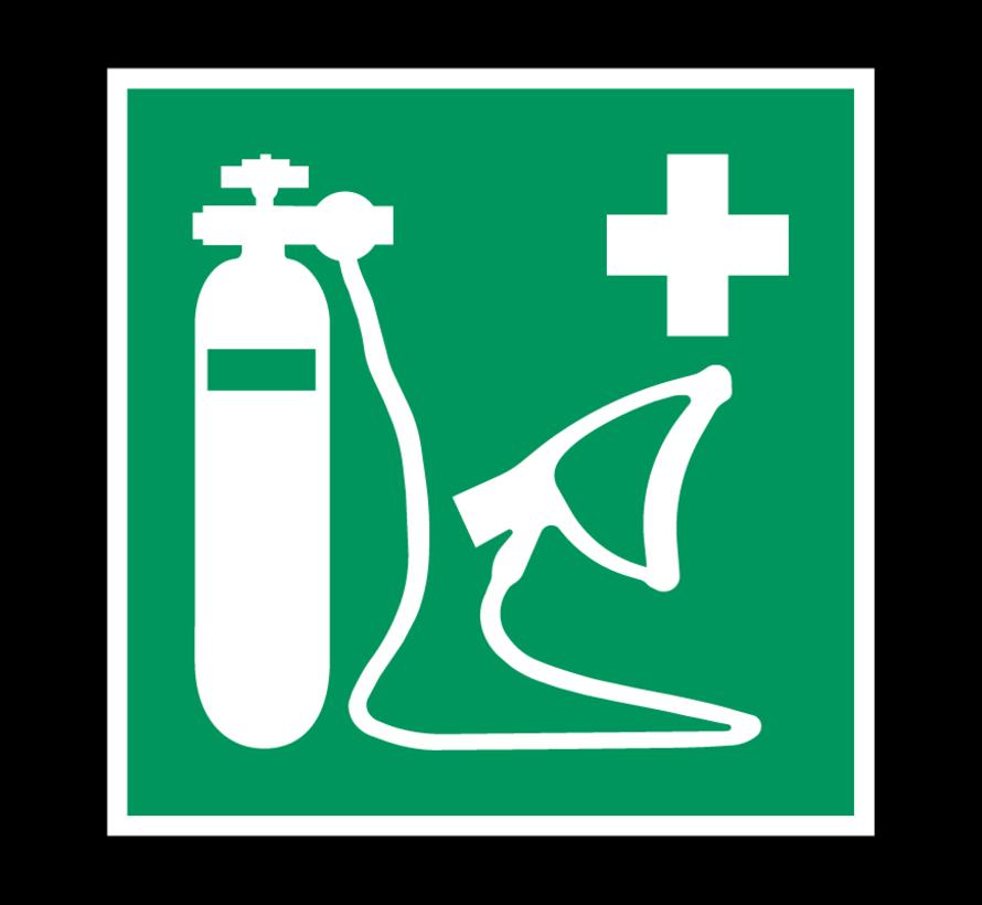 Beademingsapparaat pictogram