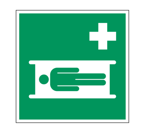 ARBO centrum Brancard pictogram