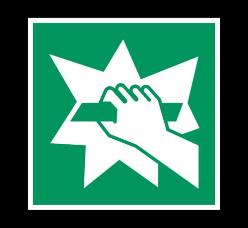 ARBO centrum Breken om toegang te krijgen pictogram