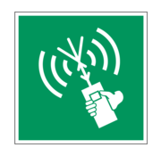 Draagbare meldingsradio