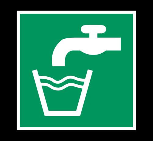 ARBO centrum Drinkwater pictogram