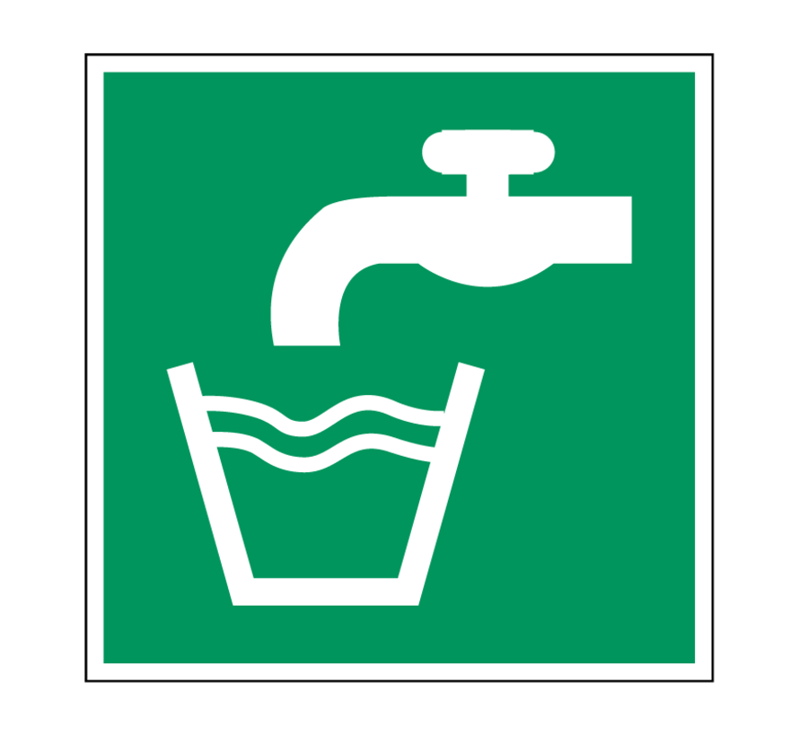 Drinkwater pictogram