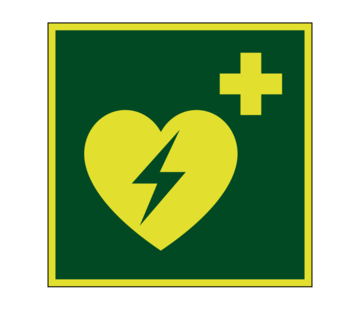 AED lichtgevend