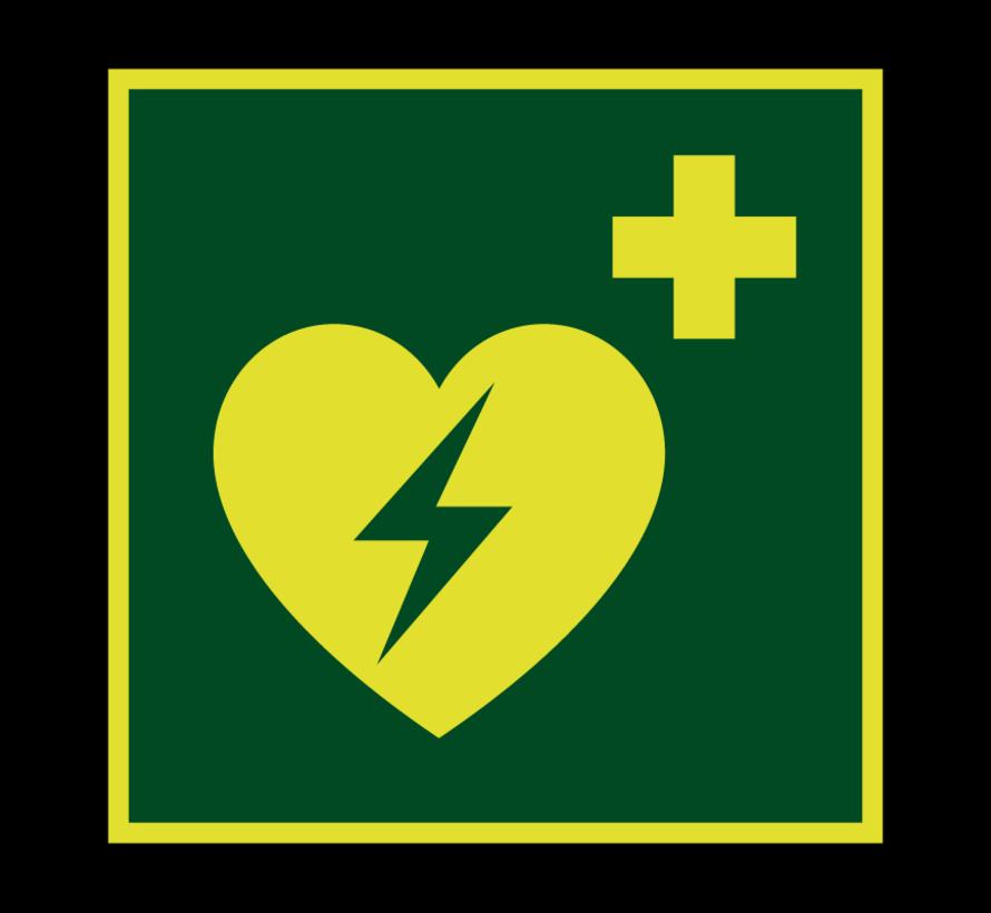 AED lichtgevend pictogram