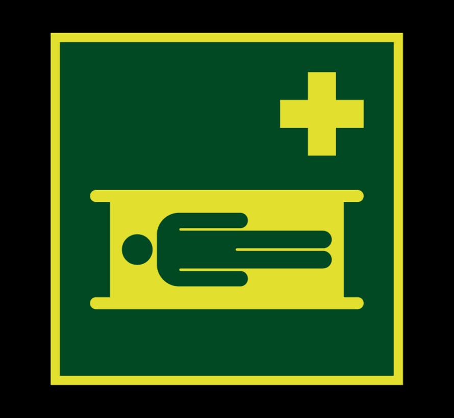 Brancard lichtgevend pictogram