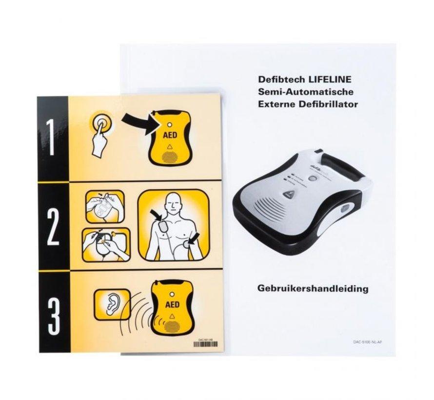 Defibtech Lifeline View Dual halfautomaat
