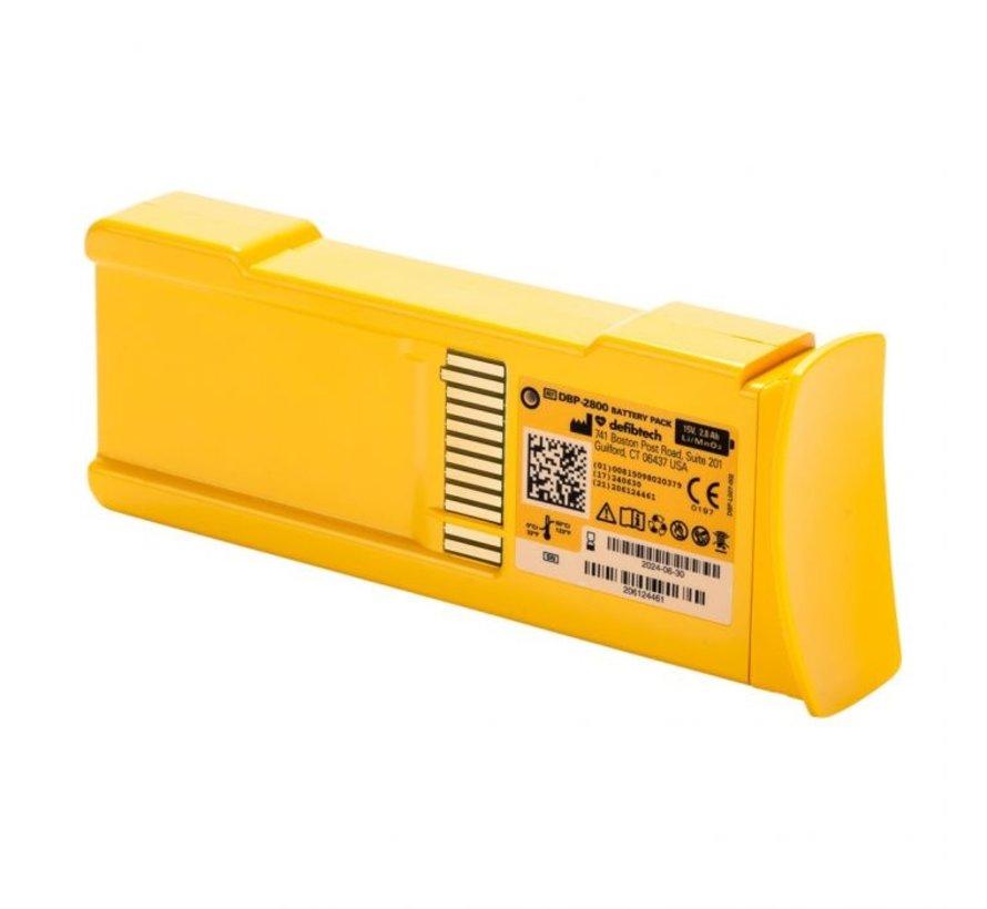 Defibtech Lifeline batterij