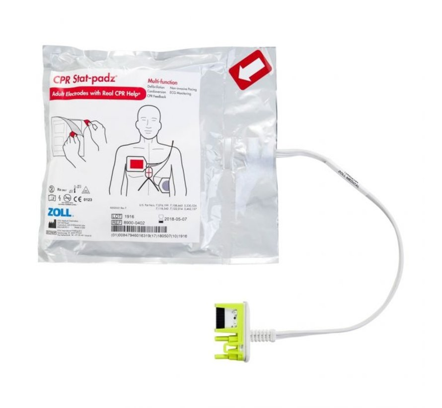 Zoll AED Plus CPR Stat-padz elektroden