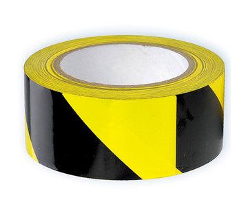 ARBO centrum Vloer markeringstape Zwart - Geel