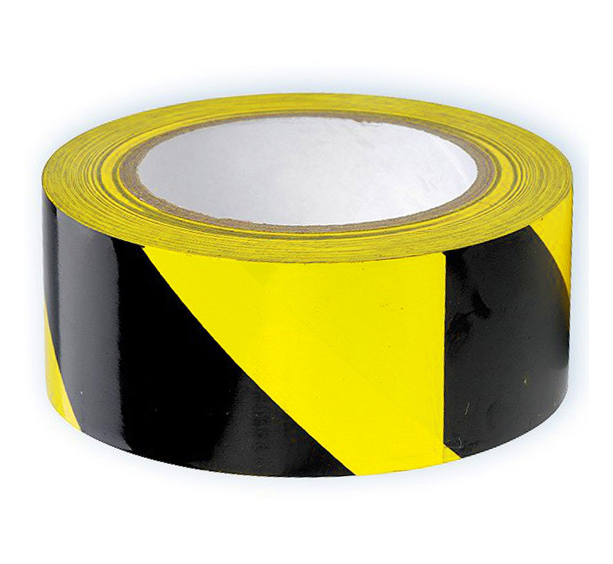 Vloer markeringstape Zwart - Geel