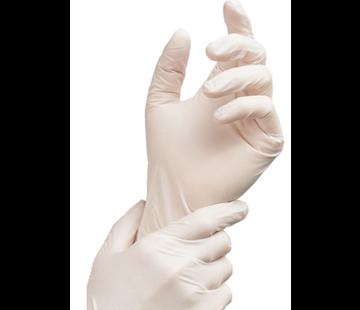 Latex gepoederd handschoenen - 100 stuks