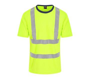 ARBO centrum Veiligheids t-shirt geel
