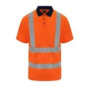 ARBO centrum Veiligheids polo oranje