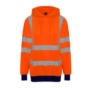 Veiligheids hoodie oranje