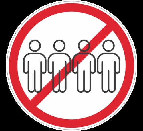 ARBO centrum Grote groepen verboden