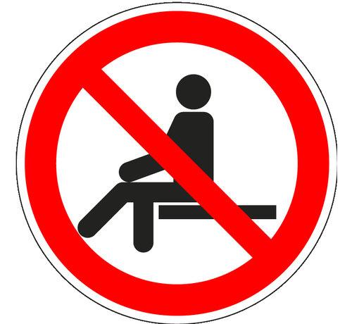 ARBO centrum Verboden te zitten