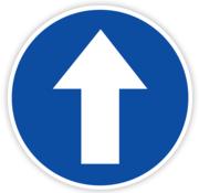ARBO centrum Vloersticker looprichting