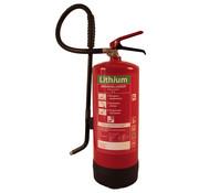 Lithium brandblusser 6 liter schuim