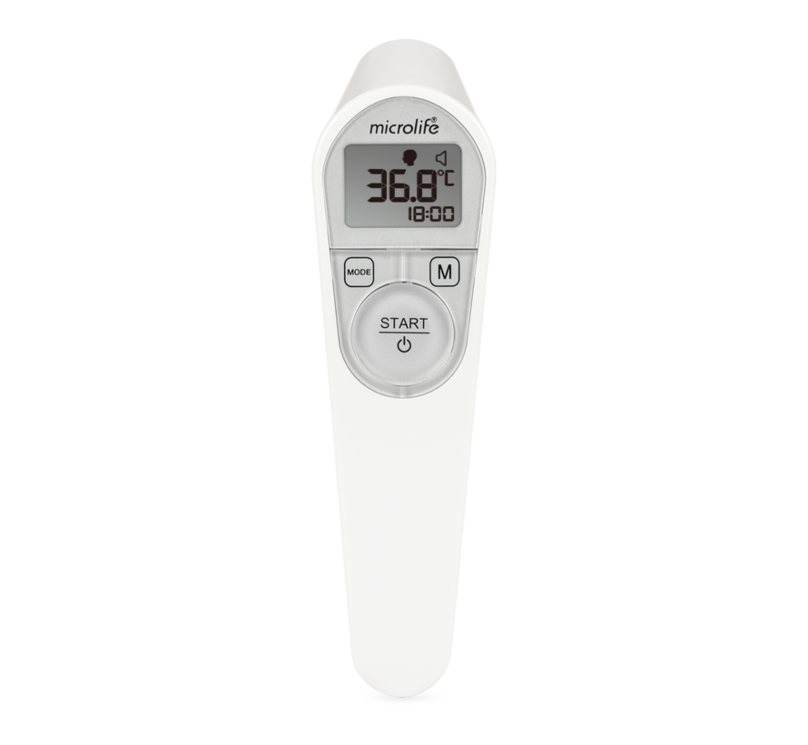 Infra-rood contactloze koortsthermometer