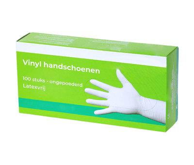 Vinyl poedervrij handschoenen - 100 stuks