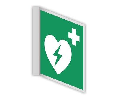 AED haaks bord